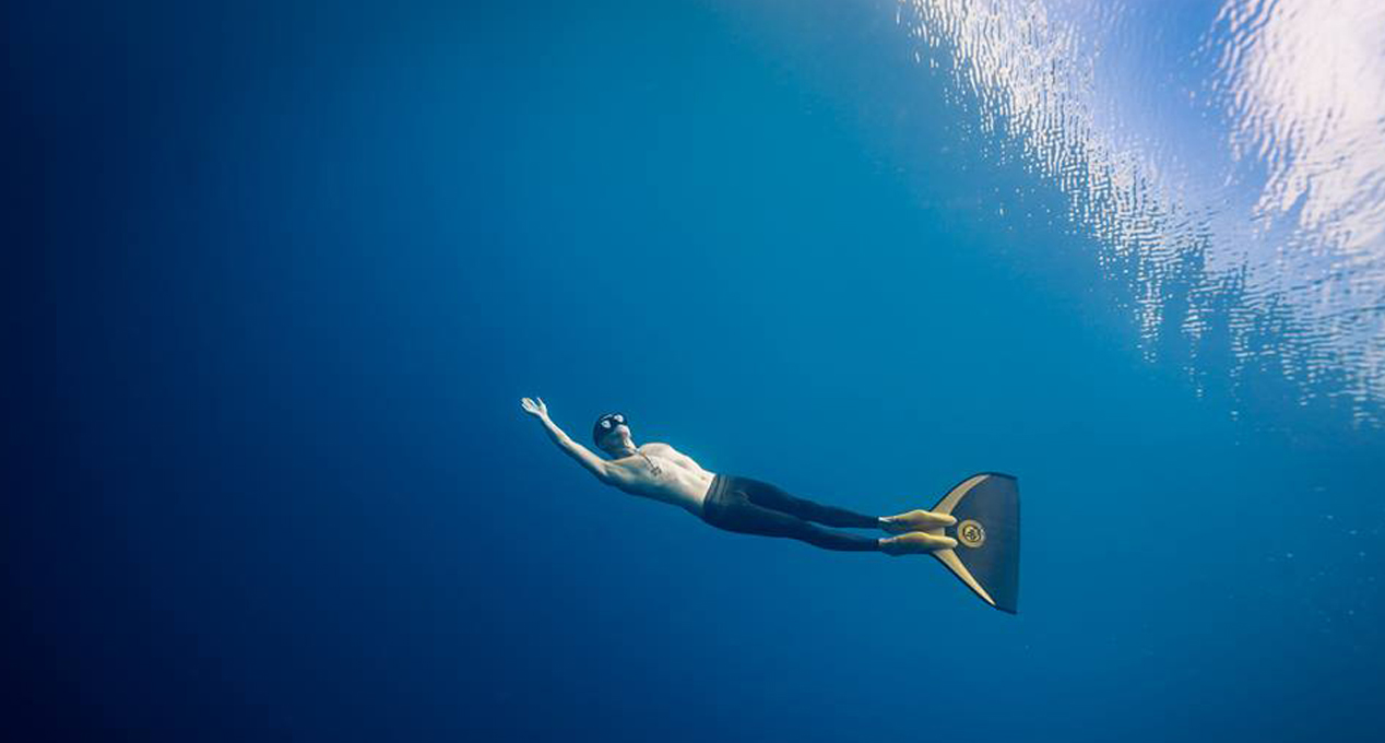 Interview Freediver Tim Oehmigen